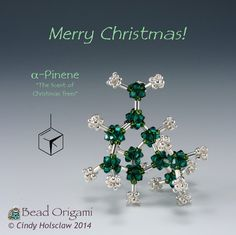 Beaded alpha-pinene - Cindy Holsclaw - Bead Origami