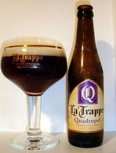 Belgian Style Dark Strong Ale - La Trappe Quadrupel Unibroue Trois Pistoles