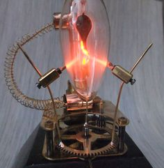 Steampunk Plasma Curler by Admiral Aaron Ravensdale from Steampunk-Design.de