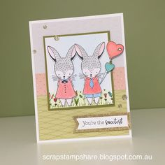 Hello and welcome aboard our  Close To My Heart February 2017 Easter Bunny Stamp of the Month Australasian Blog Hop . If you have arriv...