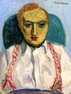 """""""Louis Kaufman""""  Milton Avery, 1931"""