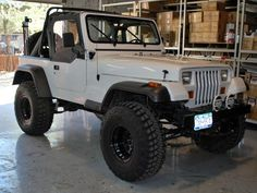 Monstaliner do-it-yourself roll-on truck bed liner Old Jeep, Jeep Tj, Jeep Truck, Truck Bed Liner, 1997 Jeep Wrangler, Jeep Gear, Jeep Baby, White Jeep, Jeep Mods