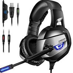 ONIKUMA K9 Anti-noise Super Bass Headphones Game Headset with Microphone AA