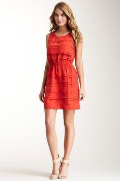 Scallop Ruffle Dress
