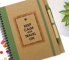 Persönliches Notizbuch Reisen Geschenk persönliche von LooveMyArt
