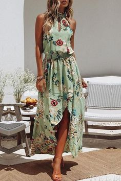 Frigirl The Sweet Symphony Maxi Dress #summer2018 #vacationessential #flatteringstyle affiliate