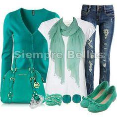 Sueter verde