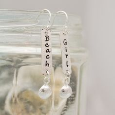 Beach Girl Earrings,