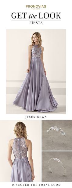 Stunning cocktail dress by Pronovias: Get the Look!