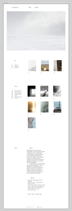 Creative Web, Design, Minimal, and Layout image ideas & inspiration on Designspiration Minimal Web Design, Web Ui Design, Simple Web Design, Modern Web Design, Homepage Design, Flat Design, Brochure Design, Layout Design, Layout Web