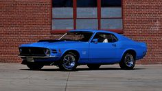 1970 Ford Mustang Boss 429 Fastback Unrestored with 4,770 Miles, Well Documented