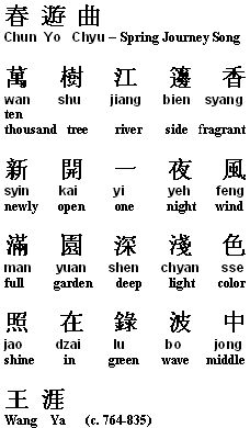 how to write chinese poetry