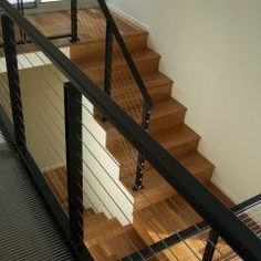 Modern lines for the staircase