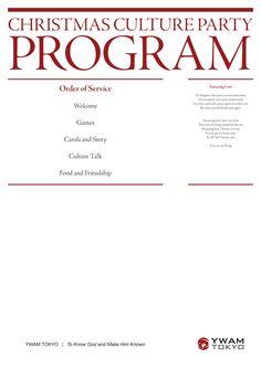 company christmas party program ideas
