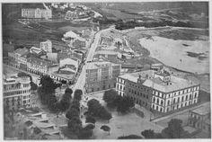 Plaza de Pontevedra. La Coruña