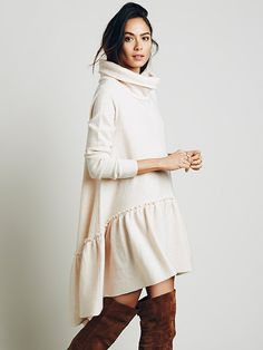 Free People Ruffle Up Tunic at Free People Clothing Boutique