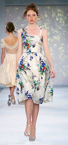 Luisa Beccaria, lovely floral print.