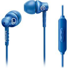 Fone de Ouvido INTRA-AURICULAR com Microfone SHE8105 AZUL Philips  #promoção #oferta #fone