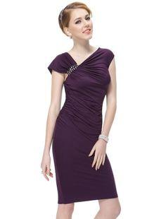 Amazon.com  Ever Pretty Womens Trendy Elastic Party Dress 10 US Vermillion   Clothing 78a839938