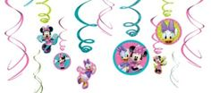 Minnie Mouse Swirl Decorations - Party City 12ct $3.99