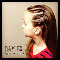 Girly Do Hairstyles: By Jenn: Week 12 {#GirlyDos100DaysofHair}