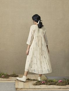 Bloom Gathered Dress