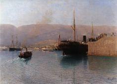 Lev Lagorio - Yalta, Steamer (1903)
