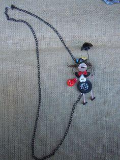 Mary Poppins Spilla o Collana