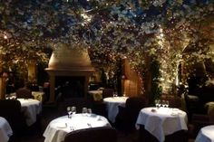 Clos Maggiore, the most romantic restaurant in London. London Food, London City, Covent Garden, Wine And Spirits, Most Romantic, Luxury Travel, London England, Places To Go, Table Decorations