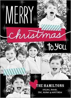sweet star collage christmas card christmas stuff christmas projects winter christmas christmas ideas - Shutterfly Xmas Cards