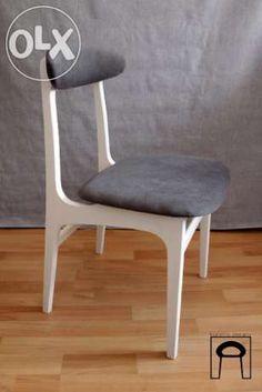 Krzesło PRL, Vintage, prof. Hałas Zielona Góra - image 1