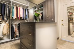 Walk In Closet Design, Closet Designs, Custom Closets, Organizers, Custom Design, Organization, Home Decor, Getting Organized, Custom Cabinetry
