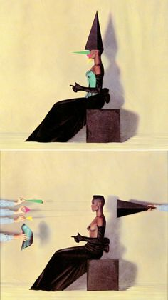 Classic Jean-Paul Goude/Grace Jones collab