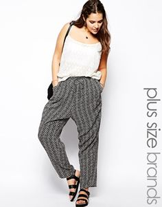 New Look Inspire Tile Print Jogger