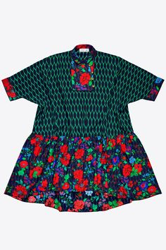 H&M x Kenzo Dress, $199, available on November 3 at H&M. #refinery29 http://www.refinery29.com/2016/10/126037/hm-kenzo-full-collection-photos#slide-4