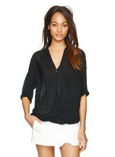 Babaton ANDERSON BLOUSE | gauzy blouse