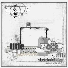 sketchabilities #112 - 1 photo