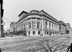 New Theatre New York City - 1910.  The Century Theatre, originally the New Theatre, at W62nd Street and Central Park West. The theater was demolished in 1931 and replaced by the Century Apartments building.