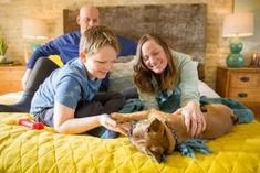 DIY Dog Ramp for the Bed | HGTV Dog Steps For Bed, I Can Haz, Pet Ramp, Retail Solutions, Pet Stairs, Diy Dog Bed, Smart Storage, Hgtv, Snuggles
