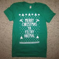 """want. (From one of my favorite childhood Christmas movies.) LOVE IT! I say this all the time in my head... """"Keep the change ya filthy animal!"""""""