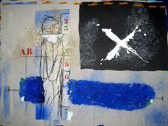 Le blanc door James Coignard - Te huur/te koop via Kunsthuizen.nl #art #abstract #mixedmedia #jamescoignard #kunst #kunsthuizen #kunstuitleen