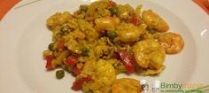 Paella Bimby di pesce - Ricette Bimby