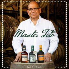 Kennen Sie eigentlich schon Master Tito?  Botucals #Masterblender Tito Cordero arbeitet nun seit über 24 Jahren für DUSA, die Destillerie, in der Botucal Rum hergestellt wird. Er hat sein halbes Leben darauf verwendet, etwas ganz Besonderes zu erschaffen und den Rum, den wir alle so lieben, bis ins Kleinste zu perfektionieren. #Diplomatico #Botucal #Rum #Tasting #Spirits