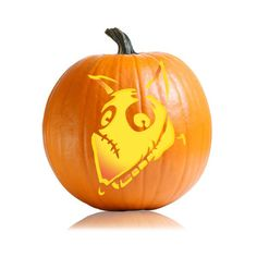 26 Pumpkin Carving Ideas For Your Little Cartoon-Lover Frankenweenie Bring Sparky back to life, just like in the movie — but this time in pumpkin form!