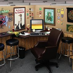 This One Would Drive Me To Drink At Work Prob Not The Best Office Cubicle Designwork
