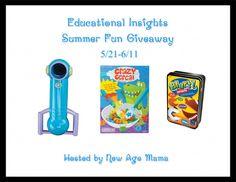 Educational Insights Summer Fun Giveaway {US   Ends 06/11} - Pink Ninja Blogger