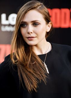 Elizabeth Olsen   Premiere of Godzilla