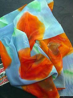 silk scarves | Flickr - Photo Sharing!