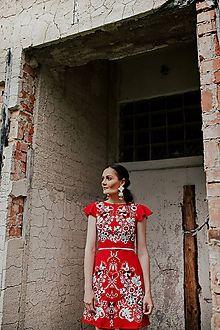 JAROSLAVA WURLL KOCANOVA - JaroslavaWurllKocanova / SAShE.sk Shoulder Dress, One Shoulder, Short Sleeve Dresses, Dresses With Sleeves, Fashion, Moda, Sleeve Dresses, Fashion Styles, Fashion Illustrations