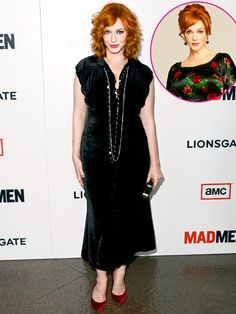 Mad Men's Christina Hendricks on and off screen